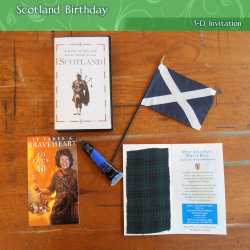 Scotland Birthday