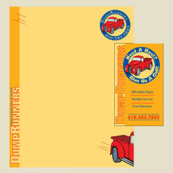 Dump Runners Stationery
