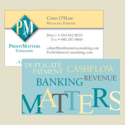 ProfitMatters Business Card